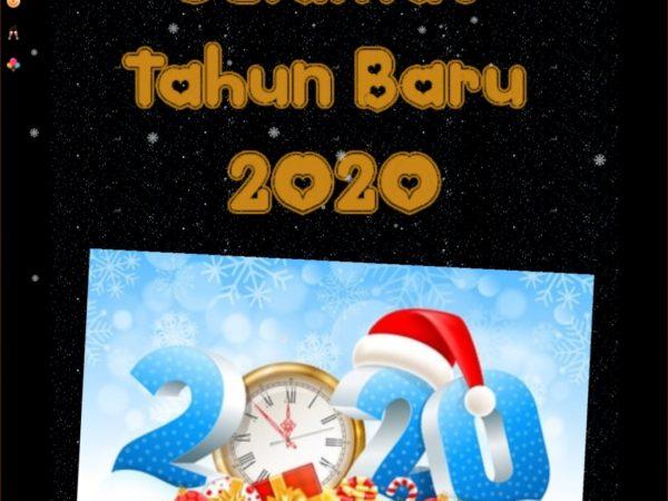 Selamat Tahun Baru Masehi 2020